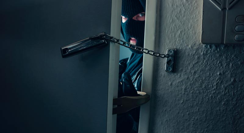 ¿Cómo evitar robos en casa?